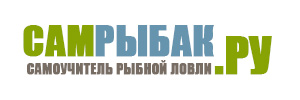 Логотип сайта Сам Рыбак